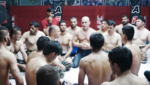 Premier club privé de combat libre (MMA) en Afghanistan - Sputnik France