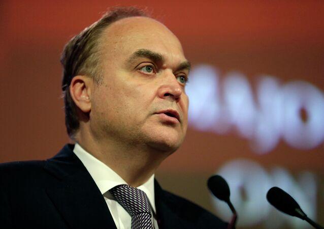 Anatoli Antonov, ambassadeur russe aux États-Unis