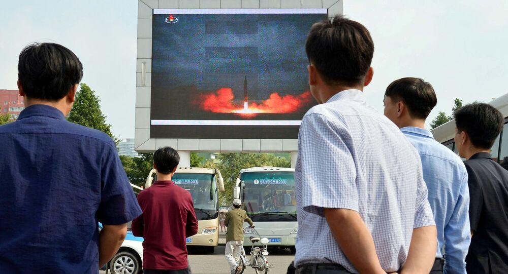 Essai nucléaire nord-coréen. Archive photo