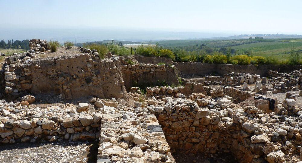 Le site historique de Tell Hazor