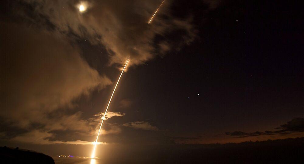 Un missile. Image d'illustration