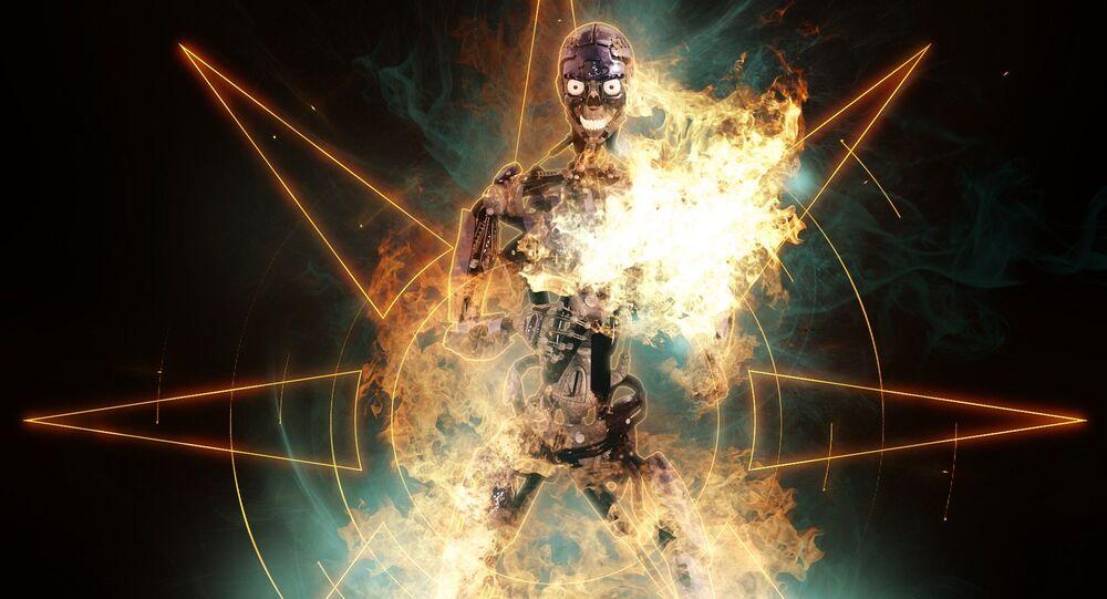 Un robot. Image d'illustration