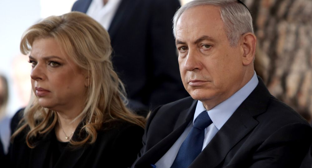 Benjamin Netanyahu et sa femme Sara