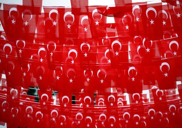 Drapeaux turcs