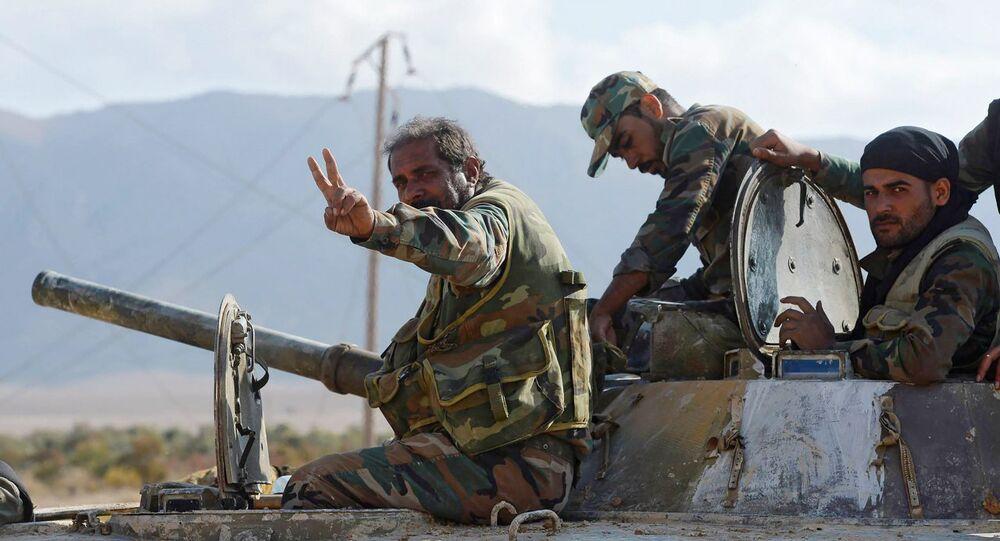 L'armée syrienne, image d`illustration