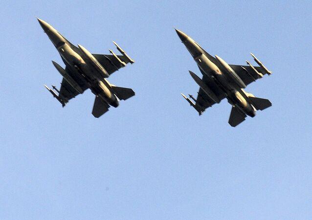 Des chasseurs F-16 belges (archives)