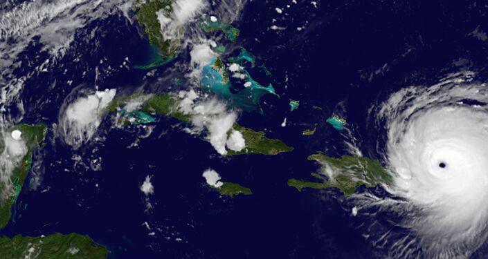 L'ouragan Irma photographié depuis l'espace