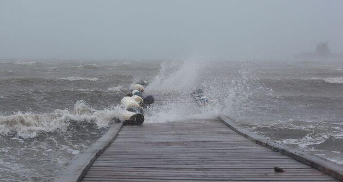 L'ouragan Irma ravage à Porto Rico