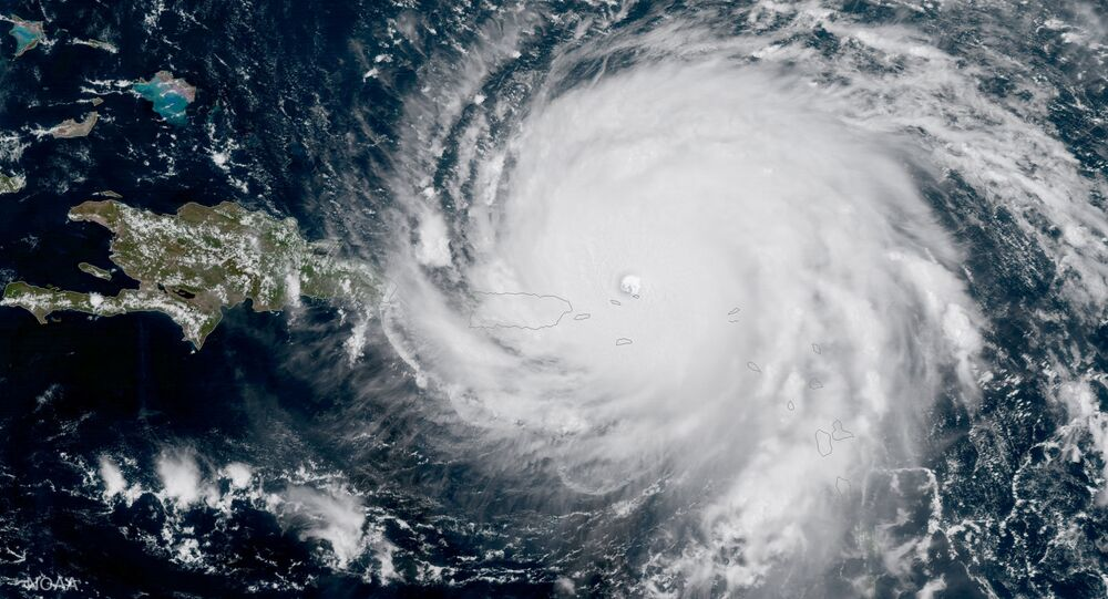 ouragan, image d'illustration