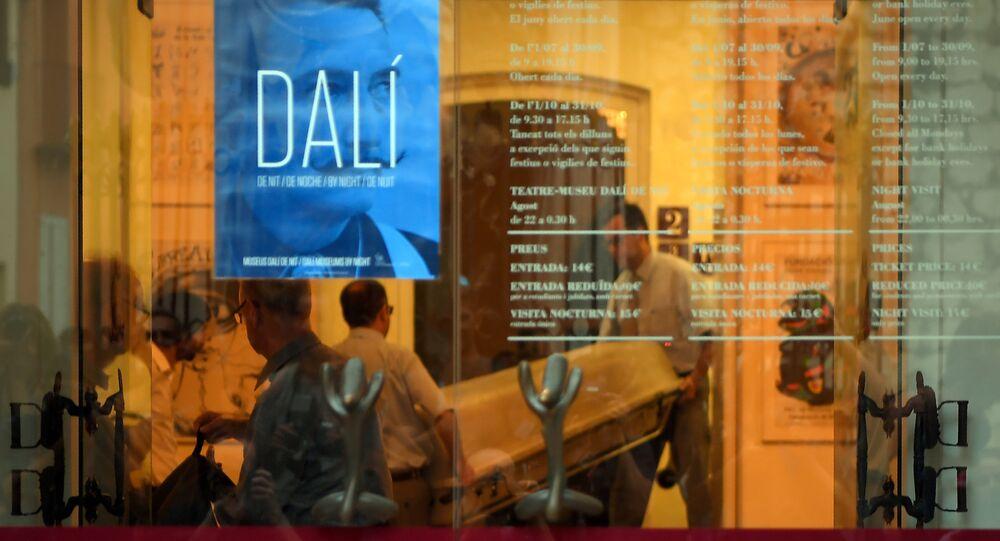 Exhumation de Dali