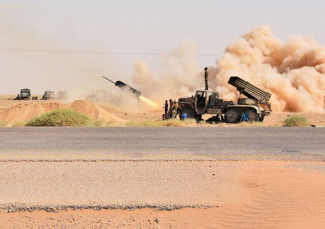 frappes contre les terroristes en Syrie (images d'illustration)