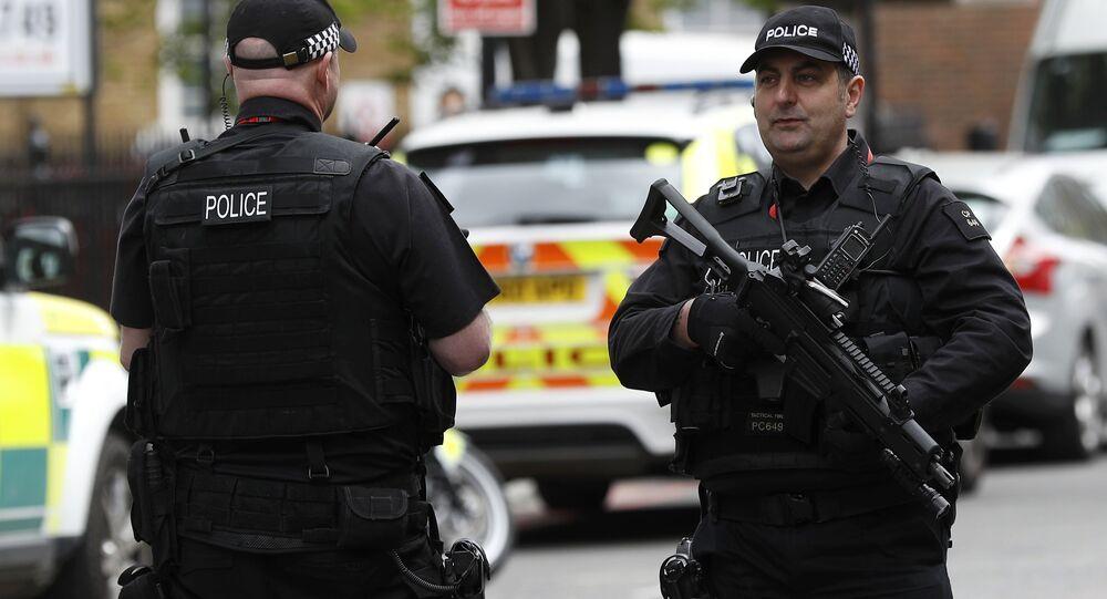Police britannique