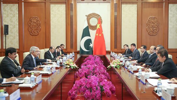 Le chef de la diplomatie pakistanaise Khawaja Asif en Chine - Sputnik France