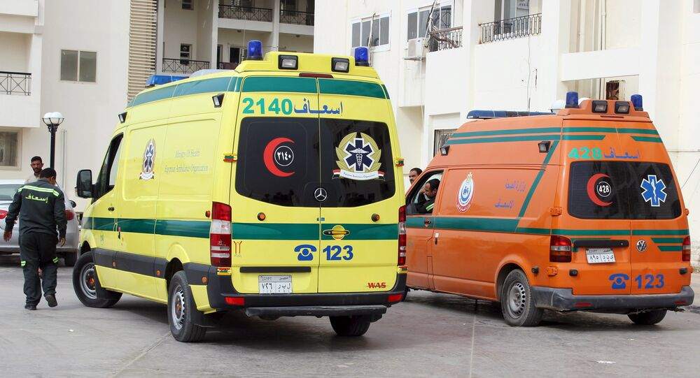 Ambulances dans le Sinai