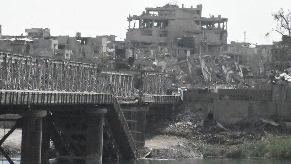Les quartiers de Mossoul dévastés par les combats - Sputnik France