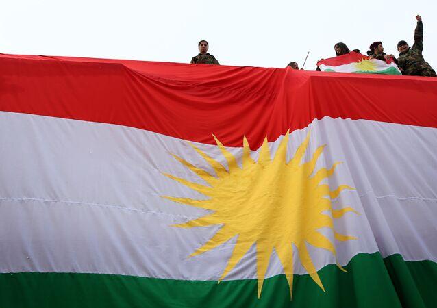 Jeunes Kurdes irakiens