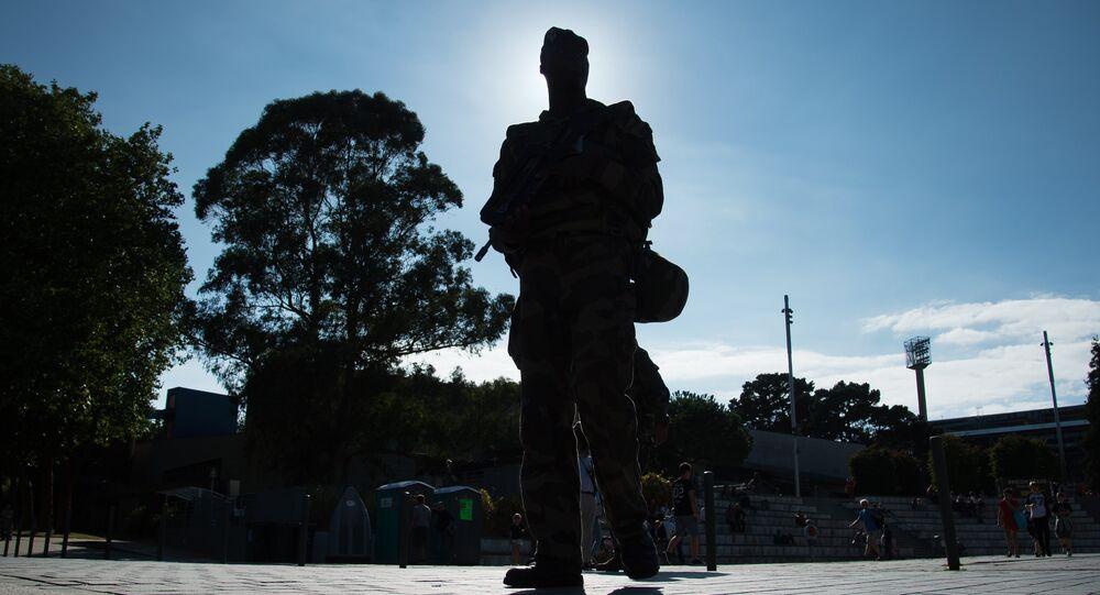 Un militaire de l'opération Sentinelle. Archive