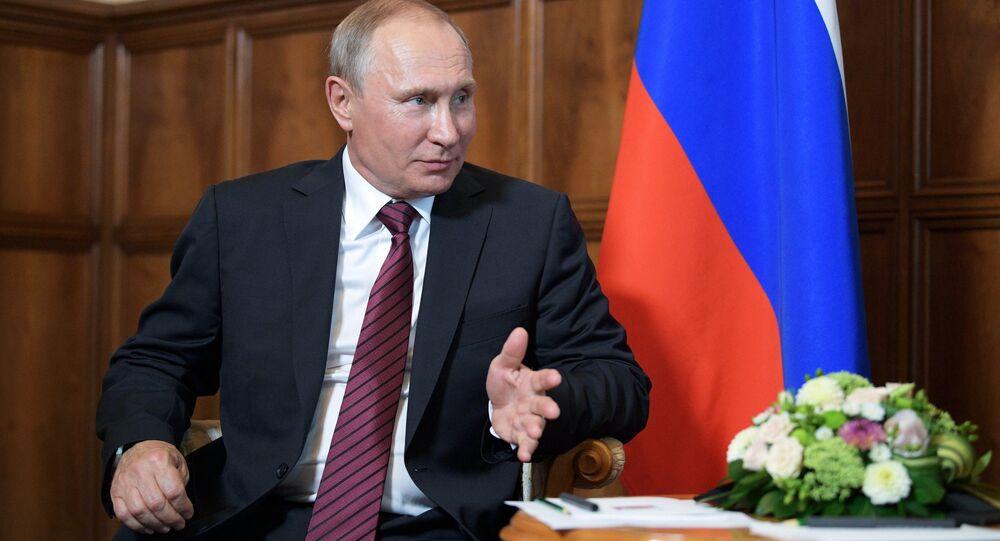 Président Vladimir Poutine