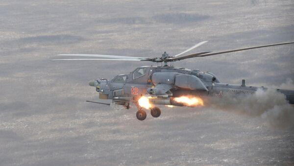 Вертолетные учения в Краснодарском крае - Sputnik France