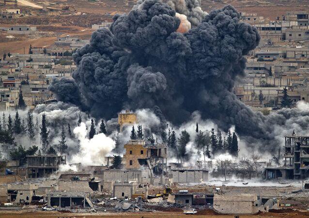 La coalition US déclare qu'elle poursuivra son opération antiterroriste en Syrie (image d'archive)