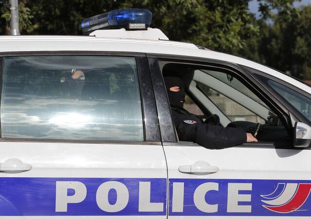 Voiture de police française