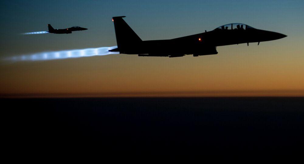 US Air Force F-15E Strike Eagles