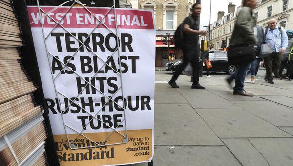 Un journal du soir paru à Londres le 15 septembre 2017 - Sputnik France