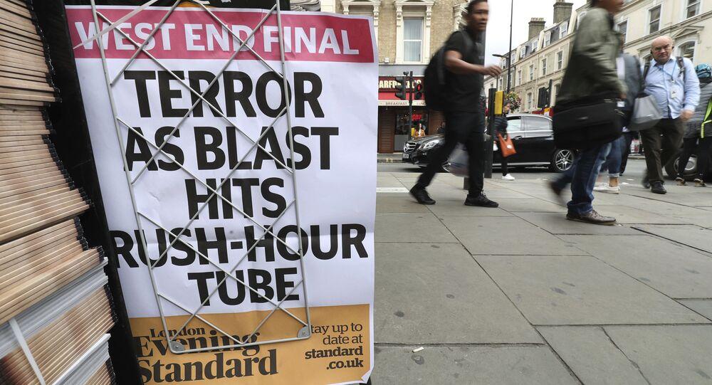 Un journal du soir paru à Londres le 15 septembre 2017