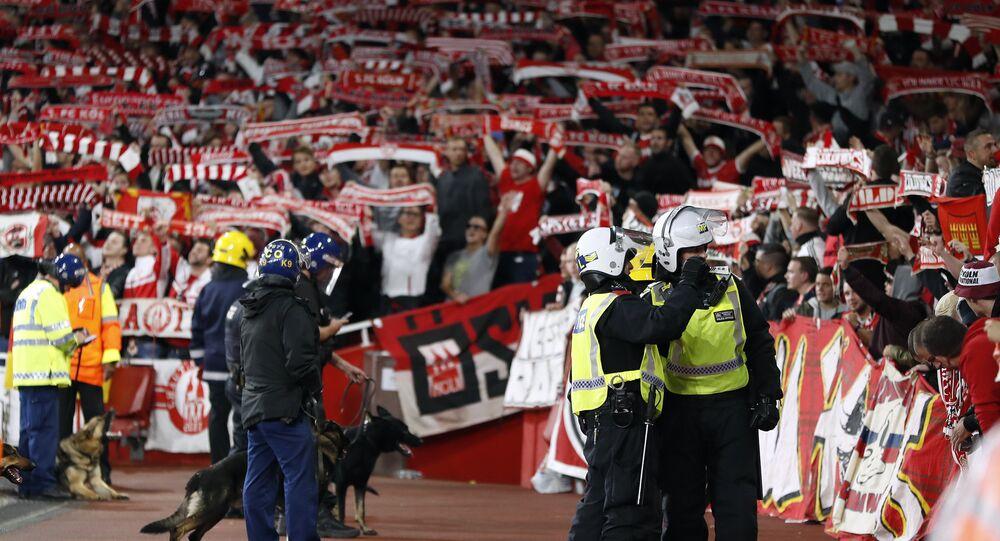 match Arsenal–Cologne à Londres