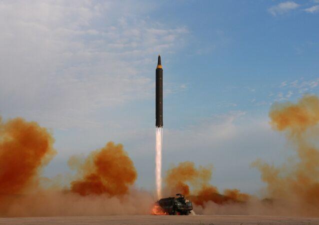le tir de missile nord-coréen