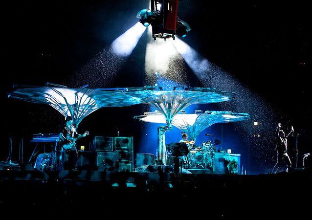 Le concert du groupe U2 à Moscou