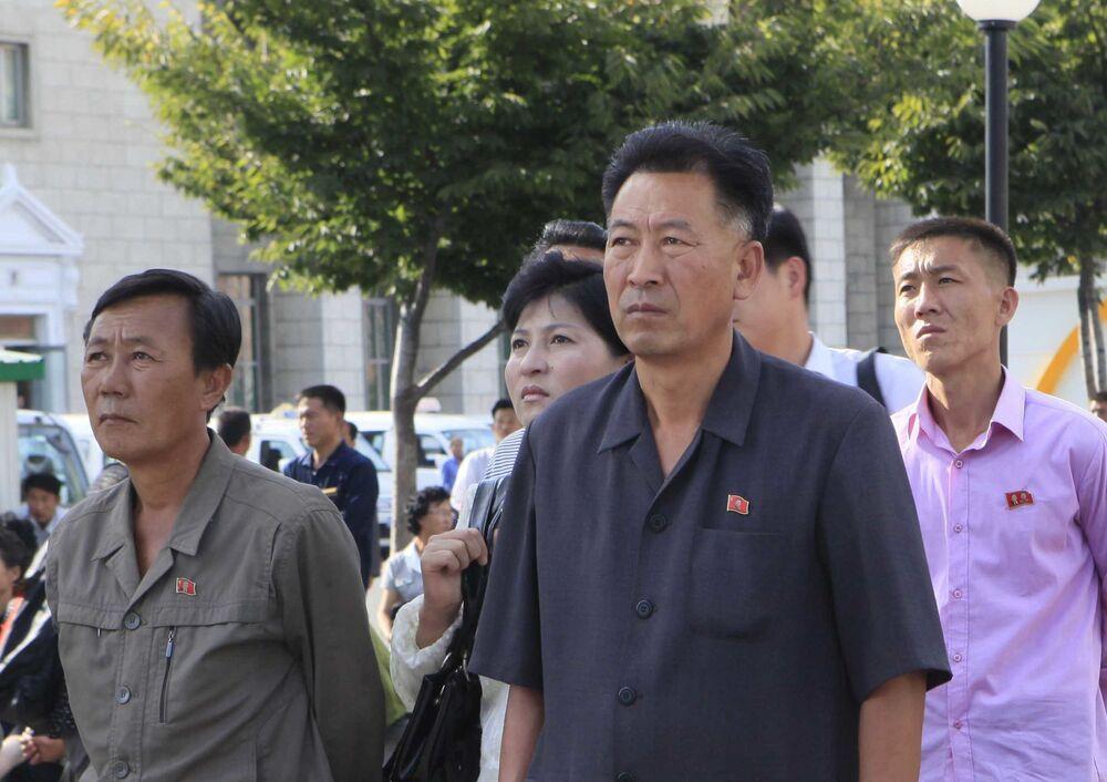 Le lancement du missile balistique nord-coréen