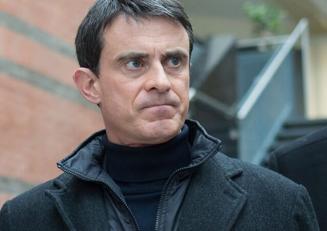 Manuel Valls. Archive photo