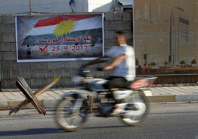 «Le Kurdistan irakien ne sera pas indépendant, la Turquie et l'Iran s'y opposant»