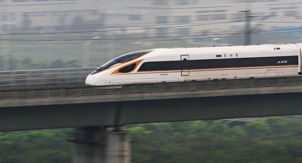 Le TGV Fuxing relie Pékin à Shanghai