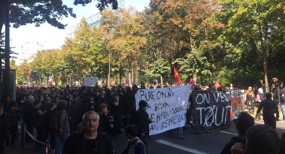 Manifestation contre la loi travail: une nouvelle journée de mobilisation à Paris