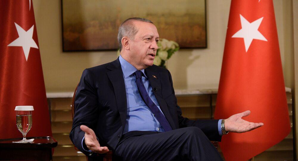 Erdogan à New York