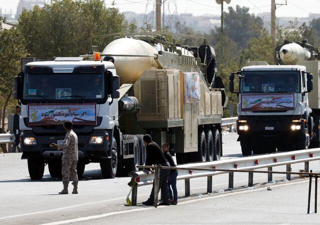 Un nouveau missile balistique Khorramshahr