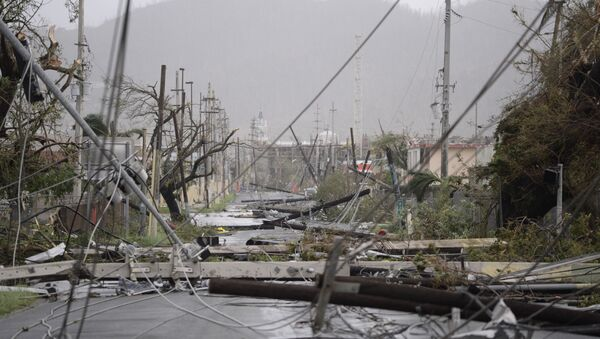 L'ouragan Maria frappe Porto Rico - Sputnik France