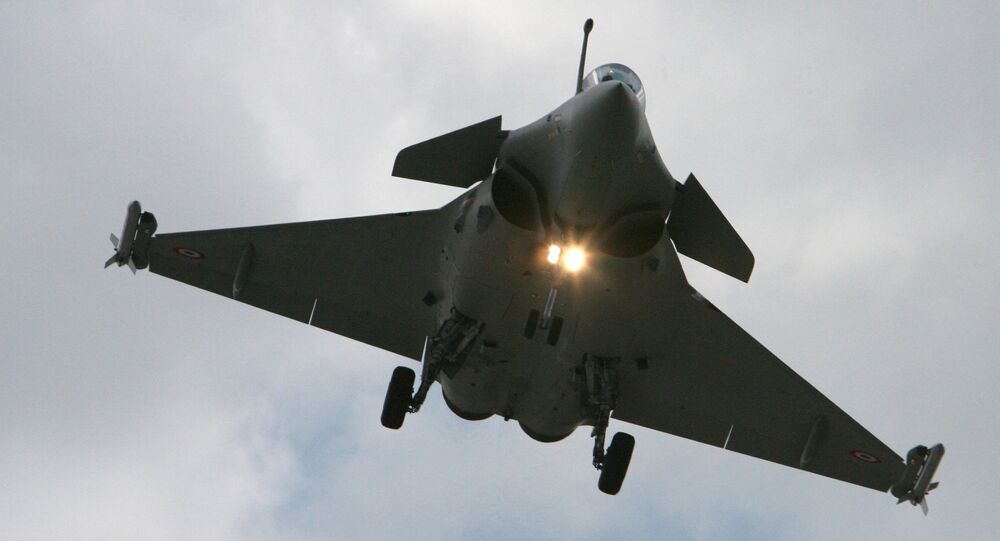 Un Eurofighter Typhoon (archives)