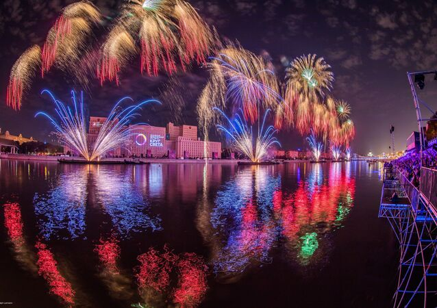 «Cercle de la lumière» - festival des impressions à Moscou