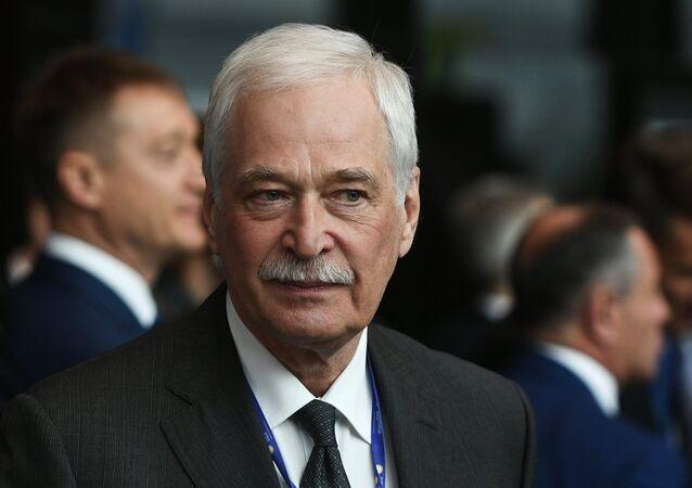 Le représentant de la Russie au sein du Groupe de contact pour l'Ukraine Boris Gryzlov