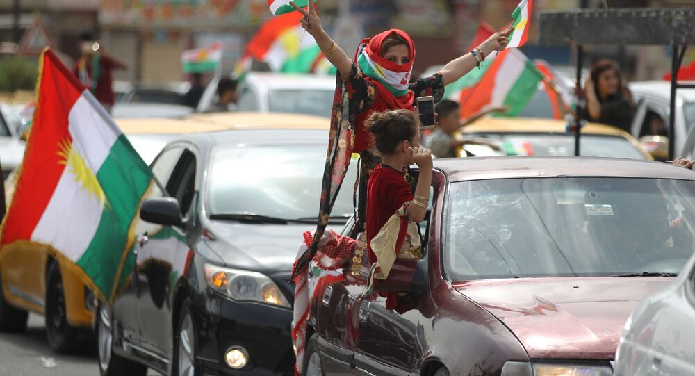 92,73% des électeurs ont voté pour l'indépendance du Kurdistan irakien