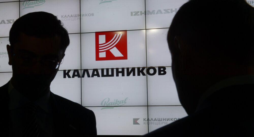 Le logo du groupe Kalachnikov