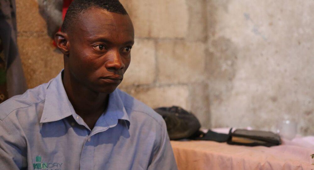 Charlithe Eddy, haïtien de 26 ans