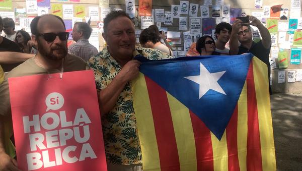 Dernière semaine avant le référendum en Catalogne - Sputnik France