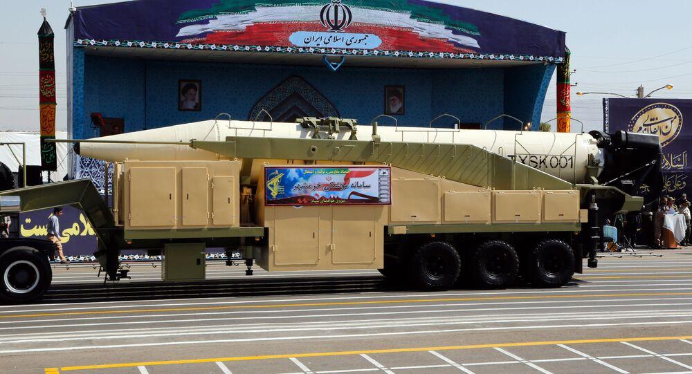 missile balistique iranien Khorramshahr