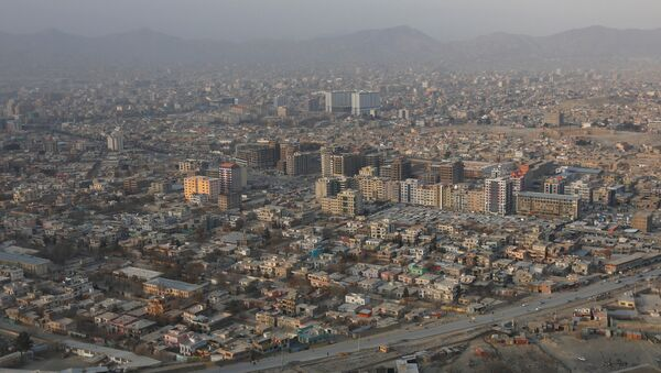 An aerial view of Kabul, Afghanistan January 1, 2017 - Sputnik France