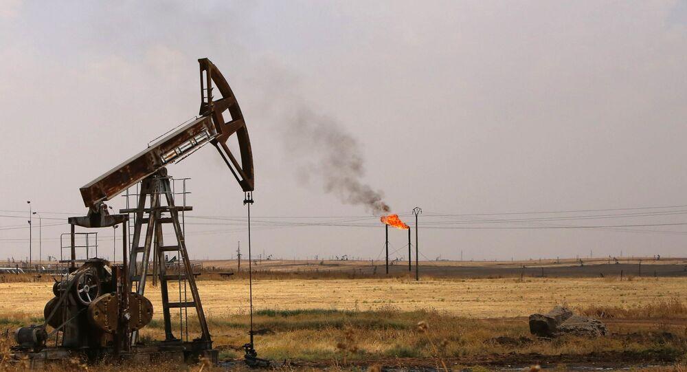 Pompes à huile dans la province syrienne d'Homs