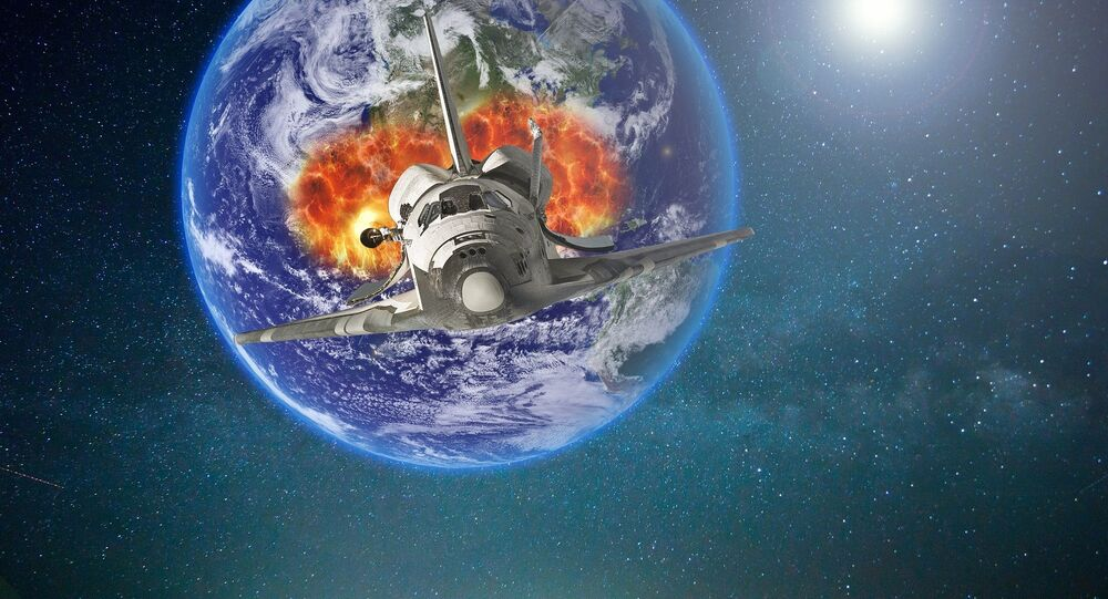 Voyages dans l'espace (image de démonstration)